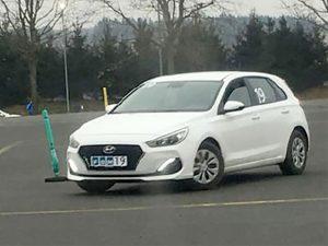 bil manøvrebane
